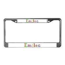 Emilee Balloons License Plate Frame