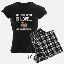 Love And A Guinea Pig Pajamas