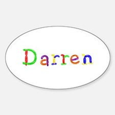 Darren Balloons Oval Decal