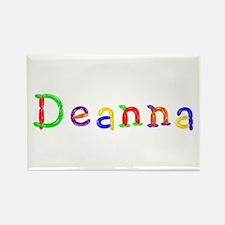 Deanna Balloons Rectangle Magnet