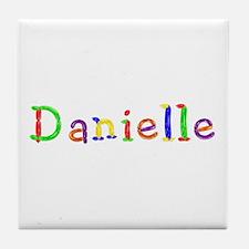 Danielle Balloons Tile Coaster
