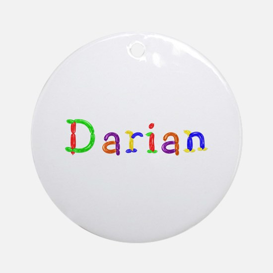 Darian Balloons Round Ornament
