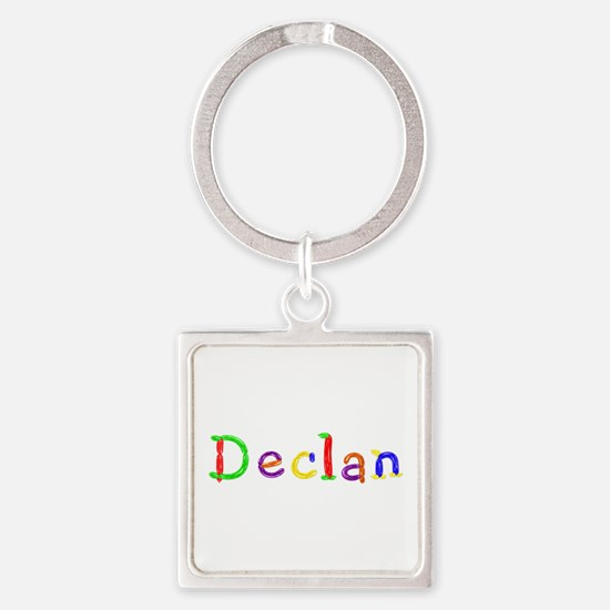 Declan Balloons Square Keychain