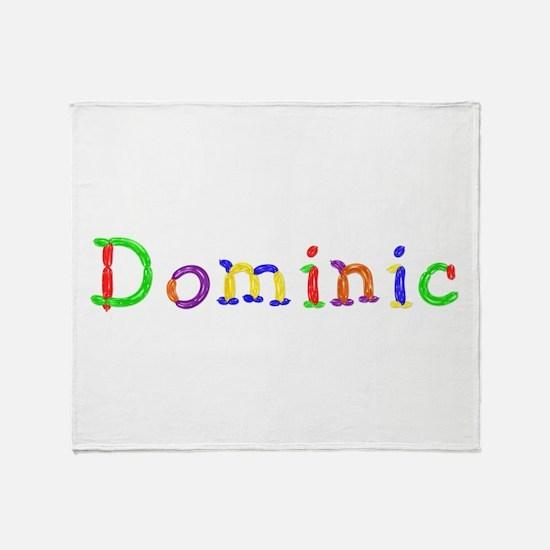 Dominic Balloons Throw Blanket
