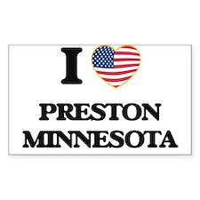 I love Preston Minnesota Decal