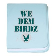 We Dem Birdz baby blanket