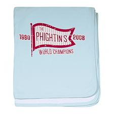 Phightins baby blanket