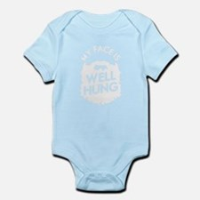 Face Is Well Hung Body Suit