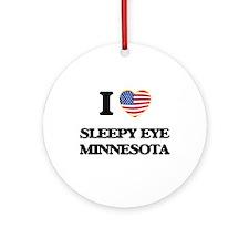 I love Sleepy Eye Minnesota Ornament (Round)