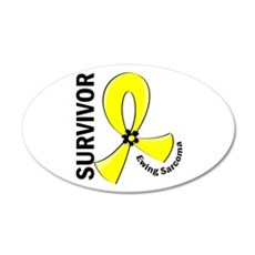 Ewing Sarcoma Survivor 12 Wall Decal