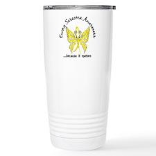 Ewing Sarcoma Butterfly Travel Mug