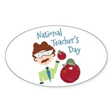 National Teacher's Day Decal