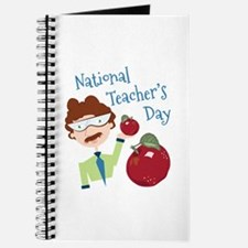 National Teacher's Day Journal