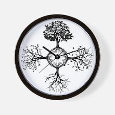 4 Seasons Ink Wall Clock