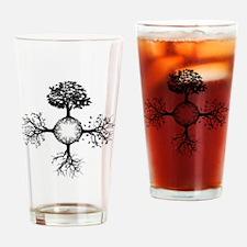 4 Seasons Ink Drinking Glass
