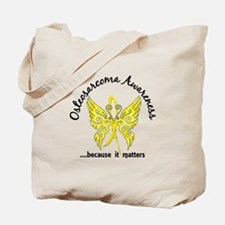 Osteosarcoma Butterfly 6.1 Tote Bag