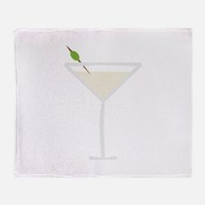 Martini Throw Blanket