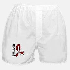 Throat Cancer Survivor 12 Boxer Shorts