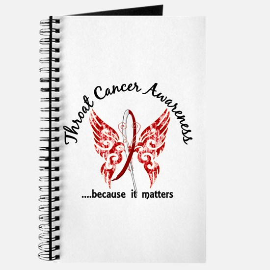 Throat Cancer Butterfly 6.1 Journal