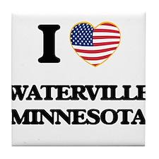 I love Waterville Minnesota Tile Coaster
