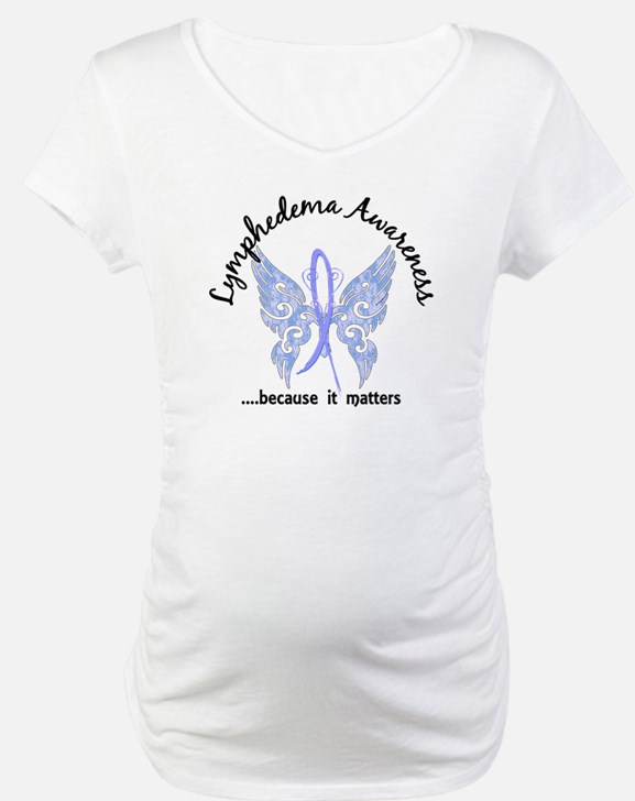 Lymphedema Butterfly 6.1 Shirt