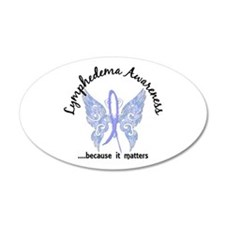 Lymphedema Butterfly 6.1 Wall Decal