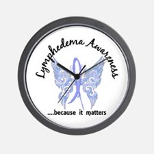 Lymphedema Butterfly 6.1 Wall Clock