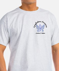Lymphedema Butterfly 6.1 T-Shirt