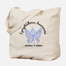 Lymphedema Butterfly 6.1 Tote Bag
