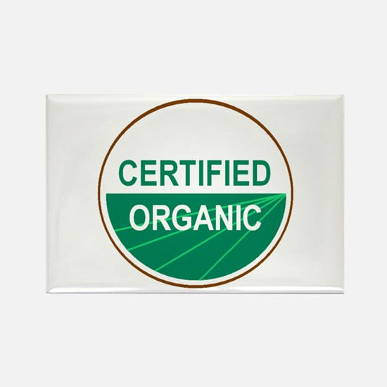 CERTIFIED ORGANIC Rectangle Magnet