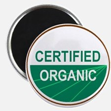 """CERTIFIED ORGANIC 2.25"""" Magnet (100 pack)"""