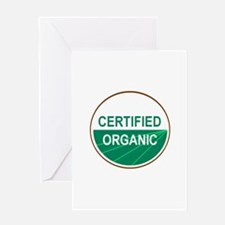 CERTIFIED ORGANIC Greeting Card