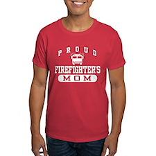 Proud Firefighter's Mom T-Shirt