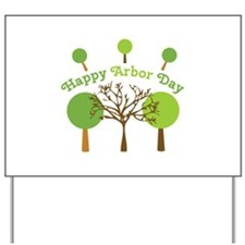 Arbor Day Yard Sign