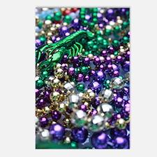 Mardi Gras Crawfish Carnival Postcards (Package of