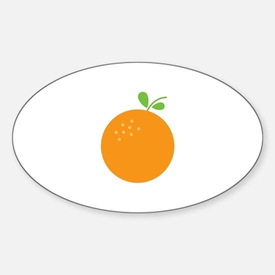 Orange Decal
