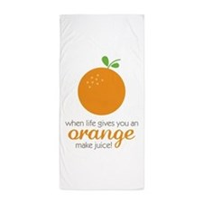 Make Juice Beach Towel