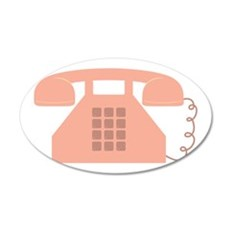 Vintage Telephone Wall Decal