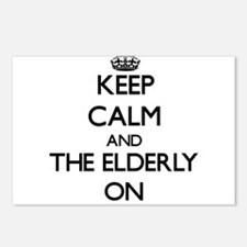 Keep Calm and THE ELDERLY Postcards (Package of 8)