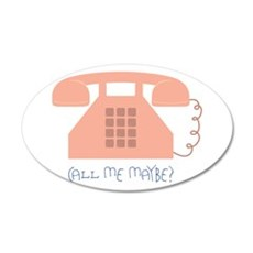 Call Me Maybe Wall Decal