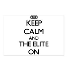 Keep Calm and THE ELITE O Postcards (Package of 8)