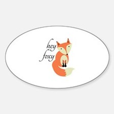 Hey Foxy Decal