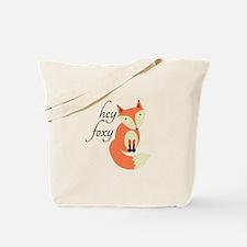 Hey Foxy Tote Bag