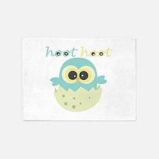 Hoot Hoot 5'x7'Area Rug