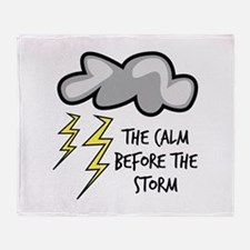 The Storm Throw Blanket