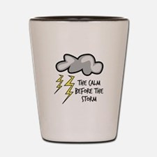 The Storm Shot Glass