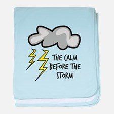 The Storm baby blanket