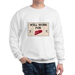 RED STAPLER HUMOR Sweatshirt