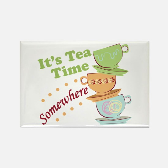 It's Tea Time Magnets