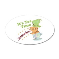 It's Tea Time Wall Decal
